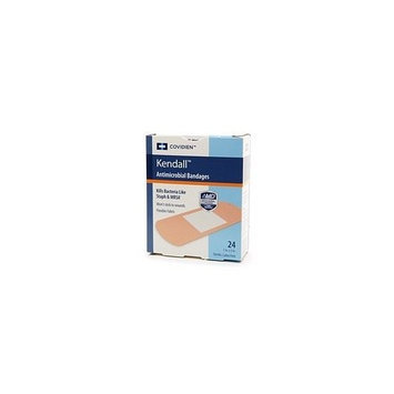 Kendall Bandages, Antimicrobial, Assorted Sizes, 24 ct.