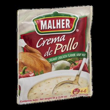 Malher Crema de Pollo