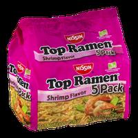 Nissin Top Ramen Shrimp Flavor - 5 CT