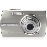 Olympus 225760 7.2 Megapixels Digital Camera - 3x Optical Zoom/5x Digital Zoom - 3072 x 2304 - XD-Picture Card - 19.1MB - Silver