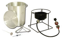 King Kooker 29 Qt. Turkey Fryer with Timer and Injector