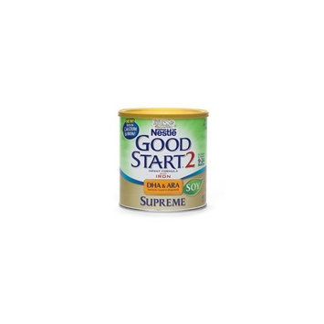 Nestlé Good Start Supreme DHA & ARA Soy Soy Infant Formula with Iron, Powder 12.9 Oz (6 Pack)