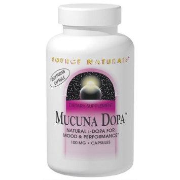 Source Naturals Mucuna Dopa 100mg, 120 Capsules