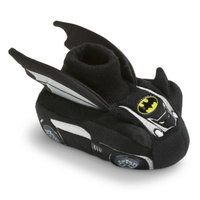 Warner Brothers Toddler Boy's Warner Batman Slipper Socks - Black XLRG