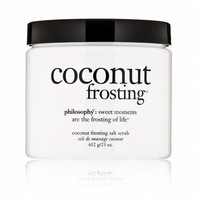 Philosophy Coconut Frosting Salt Scrub, 23 Ounce
