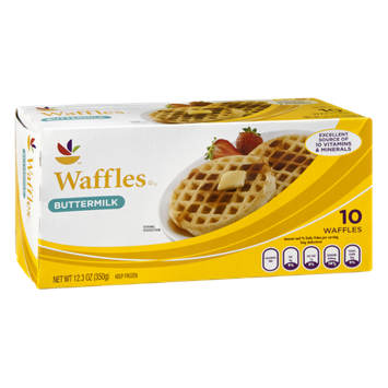 Ahold Buttermilk Waffles - 10 CT