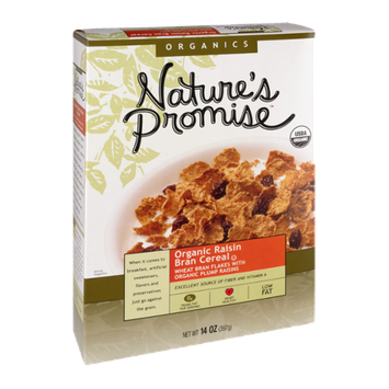 Nature's Promise Organics Organic Raisin Bran Cereal