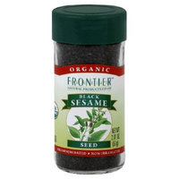 Frontier Natural Products Sesame Seed, Og, Blk Whole, 2.01-Ounce