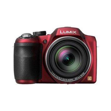 Panasonic LUMIX DMC-LZ30 16.1 MP Digital Camera - Red