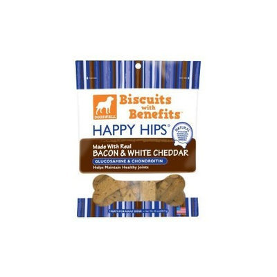 Dogswell, Treat Bcn Chddr Happy Hips, 10 OZ (Pack of 6)
