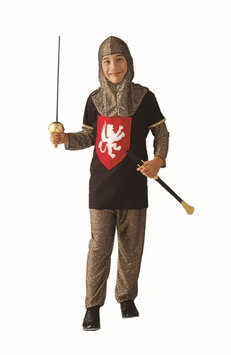 RG Costumes 90048-R-S Medieval Red Knight Costume - Size Child-Small