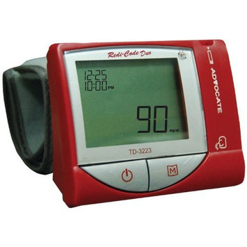 Advocate 319K Advocate Redi-Code Duo Blood Glucose and Blood Pressure Monitor Kit