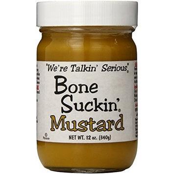 Bone Suckin' Sweet Hot Mustard, 12 Ounce