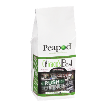 Peapod Chicago's Best Rush Street Blend Ground Coffee