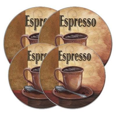 Range Kleen Burner Kovers Round La Caffe Espresso