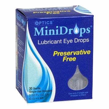 Optics Laboratory Minidrops Eye Therapy Single-Use Droppers