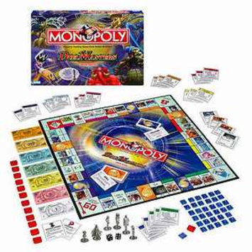 Monopoly Duel Masters Edition Game Ages 8 and up, 1 ea
