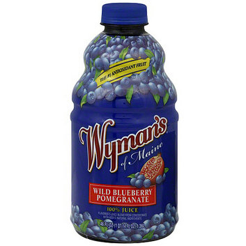 Wyman's Of Maine Wild Blueberry Pomegranate Juice