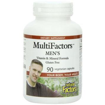 Natural Factors Multifactors Men's Veg-Capsules, 90-Count