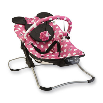 Disney Baby Minnie Mouse Snug Fit Folding Bouncer Polka Dots - DOREL JUVENILE GROUP