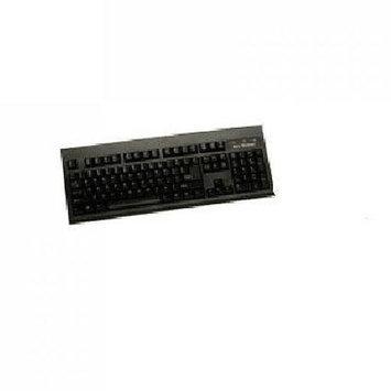 Keytronic E06101USBB Black USB Keyboard with 2Port Hub