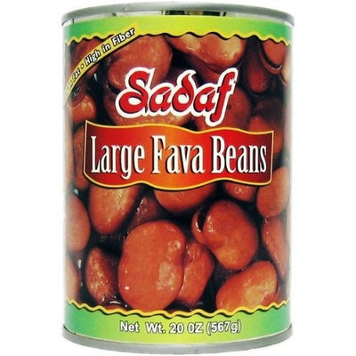 Sadaf Large Fava Beans, 20-Ounce (Pack of 8)