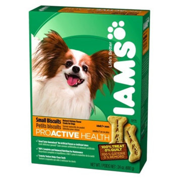 IAMS Iams ProActive Health Adult Small Biscuit Dog Treats 24 Oz