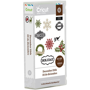 Provo Craft & Novelty Inc. Provo Craft Cricut Mini Seasonal Shape Cartridge December 25th By Teresa Collins