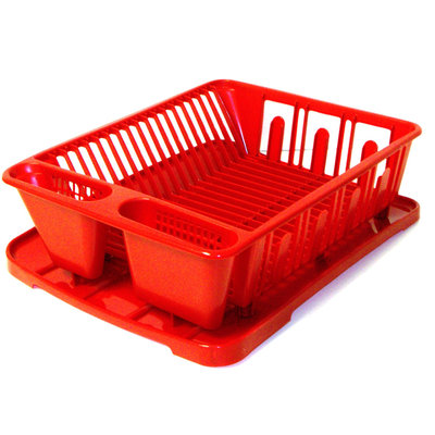 United Comb & Novelty Corp 2 PIECE SINK SET RED