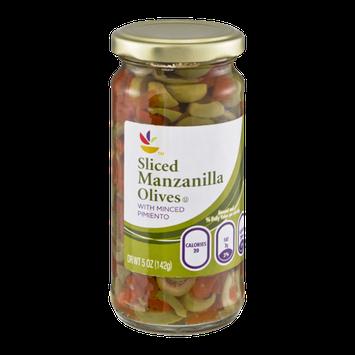 Ahold Manzanilla Olives Sliced