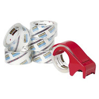 Scotch Heavy-Duty Packaging Tape - White (6 Per Pack)
