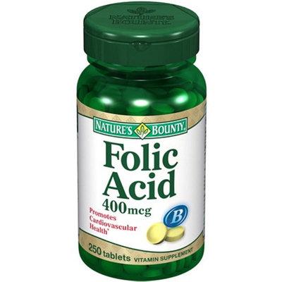 Nature's Bounty Folic Acid