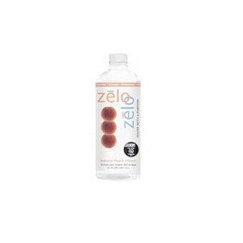 Zelo Water, Peach, 4/20 oz ( Multi-Pack)
