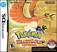 Nintendo of America Pokemon HeartGold