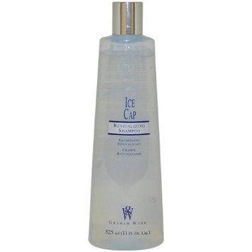 Ice Cap Revitalizing Shampoo Unisex Shampoo by Graham Webb, 11 Ounce
