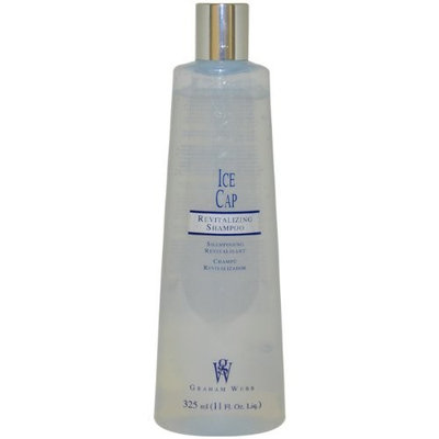 Ice Cap Revitalizing Shampoo Unisex Shampoo by Graham Webb, 11 Ounce