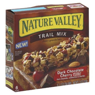 Nature Valley Trail Mix Dark Chocolate Cherry Chewy Granola Bars 6 ct