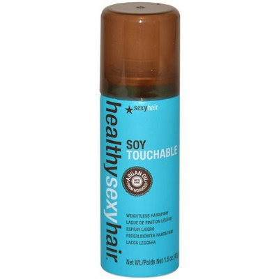 Sexy Hair Concepts Sexy Hair Healthy Sexy Hair Soy Touchable Spray for Unisex, 1.5 Ounce