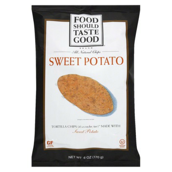 Food Should Taste Good Sweet Potato Tortilla Chips 6 oz