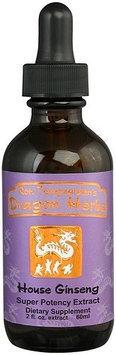 Siberian Ginseng Drops (Eleuthero) Dragon Herbs 2 fl oz (60 ml) Liquid
