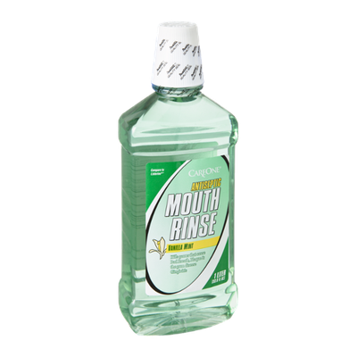 CareOne Antiseptic Vanilla Mint Mouth Rinse