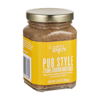 Simply Enjoy Pub Style Stone-Ground Mustard