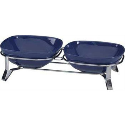 Ethical Metro Double Diner Ceramic Sapphire Small