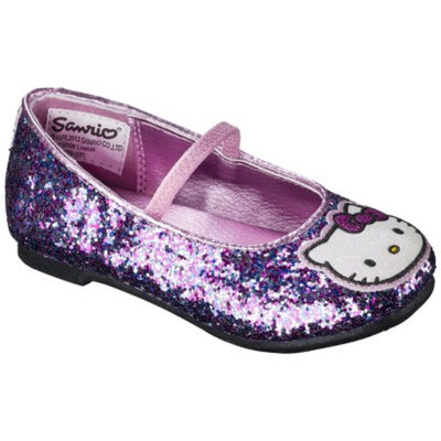 Toddler Girl's Hello Kitty Ballet Flat - Multicolored 9