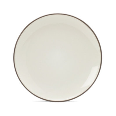 Noritake Colorwave Chocolate Coupe Salad Plate