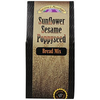 Mama Leone's Leonard Mountain Sunflower Sesame Poppyseed Bread, 17-Ounce Box (Pack of 4)