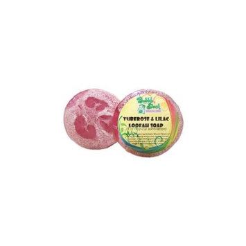 Bubble Shack Hawaii 492773500465 Tuberose and Lilac Loofah Soap - Pack of 2