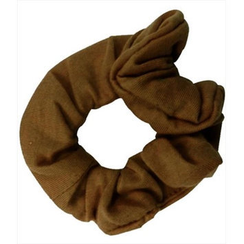 Coveryouhair CoverYourHair 61255 Soft Classy Solid Scrunchy Light Brown