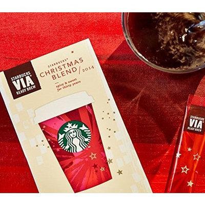 Starbucks Via 2014 Christmas Blend Ready Brew Instant Coffee 12 pk