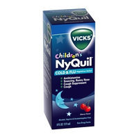 Vicks NyQuil - Children's Cold & Cough Relief, Cherry Flavor